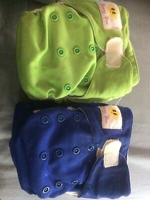 15 Sassy Star/ones & Twos Modern Cloth Nappies