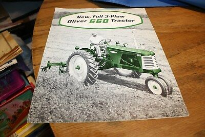 Vintage The New 660 Oliver Tractor