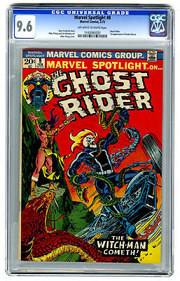 Marvel Spotlight #8 CGC 9.6 HIGH GRADE Marvel Comic Ghost Rider 1st Snake-Dance