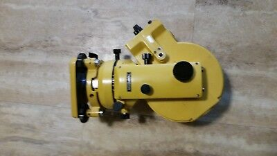 Topcon GTS-10D Guppy Electronic Optical Theodolite Surveying Equipment Tool Used