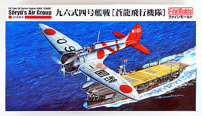 """Fine Molds FB22 IJN Carrier Fighter Mitsubishi A5M4 """"Claude"""" 1/48 scale kit"""