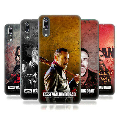 Official Amc The Walking Dead Negan Soft Gel Case For Huawei Phones