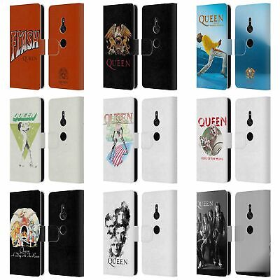 Official Queen Key Art Leather Book Wallet Case Cover For Sony Phones 1
