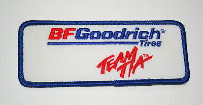 BF Goodrich Team T/A Tire & Rubber Co Dealer Employee Cloth Patch New NOS 1970s