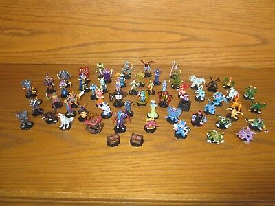 Wow! Rare Lot 62 Dungeon Dice Monsters Yugioh Figures 96Kt No Doubles No Cards
