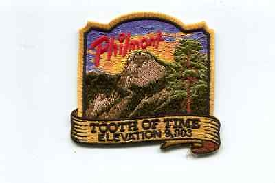 Philmont Patch-Program Area -Tooth Of Time-Newer