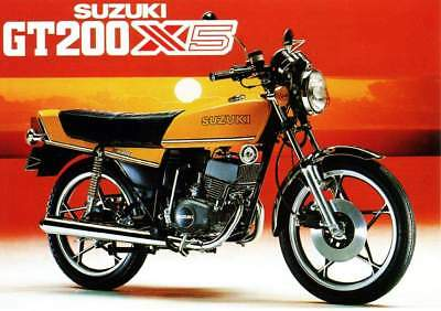 Suzuki GT200 X5 - Broken for Parts (parted) - Parts From $10 - See pics