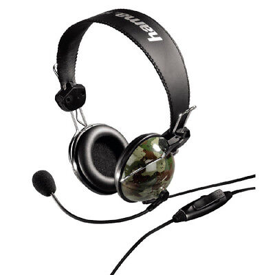 10x Hama PC-Headset Woodland im Army-Style Stereo Gaming VoiP Skype camouflage