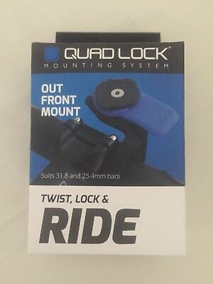 QUADLOCK Out Front Mount - Quad Lock Mount Only
