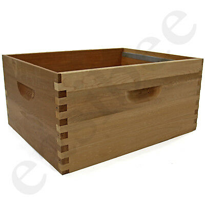 Langstroth Bee Hive Cedar Brood Box Beekeeping Beehive Keeper Easibee