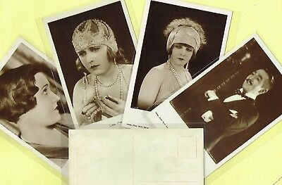 ROSS VERLAG - 1920s Film Star Postcards produced in Germany #1376 to #1432
