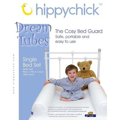 Hippychick Dream Tubes Single Bed Set Cosy Bed Guard BNIB