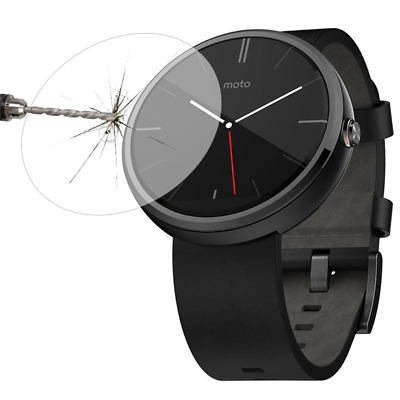 PREMIUM 0.2 mm TEMPERED GLASS FILM SCREEN PROTECTOR FOR MOTOROLA MOTO 360 WATCH
