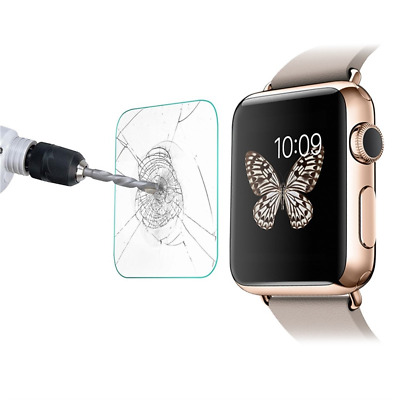 Apple Watch Glass Screen Protector Genuine Tempered Hard Crystal Clear for 38mm