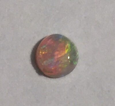 Opal Round 3 mm Natural Solid Opal Loose