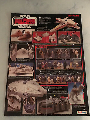 Star Wars Vintage Original Palitoy Poster ESB Empire Strikes Back !
