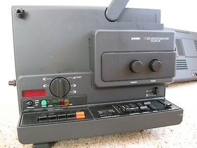BAUER T525 Microcomputer Duoplay super 8mm Projector