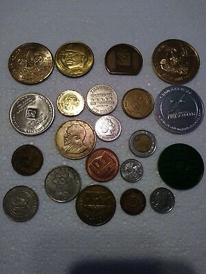 Collectible coins and tokens lot