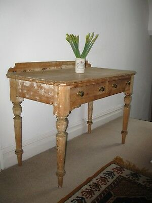 victorian pine wash stand / nursey changing table shabby chic STOCKPORT