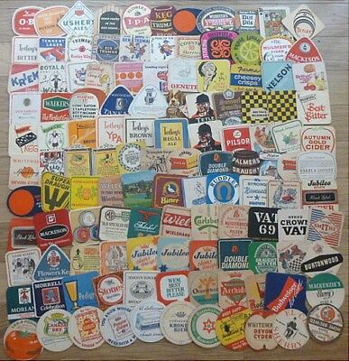 Collection of 240+ Mainly 1960's and 1970's Beermats