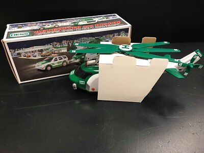 2012 Hess Toy Helicopter And Rescue New In Box!