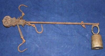 Antique Meat Scale