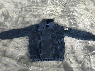 Boys Gucci 18/24 month button up sweater