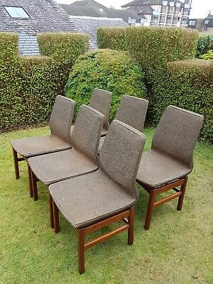 mid century retro vintage dining chairs 6