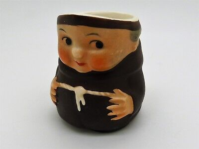 Vintage Miniature Goebel / Hummel Toby Jug Shaped as a Monk/ Friar Tuck #1