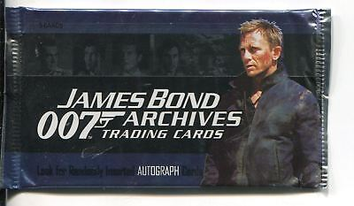 James Bond Archives 2009 Factory Sealed Hobby Packet / Pack