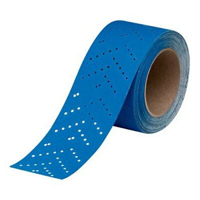 3M Blue Abrasives Hook and Loop Sandpaper Roll 180 Grit 2-3/4 x 13 yard 36191