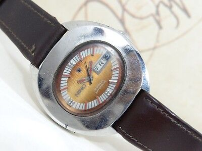 VINTAGE NINO AUTOMATIC DAY AND DATE MEN'S WRISTWATCH SWISS MADE Ref.#2066