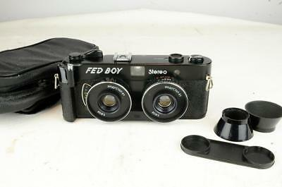 Vintage Russian Fed Boy 35Mm Stereo Camera