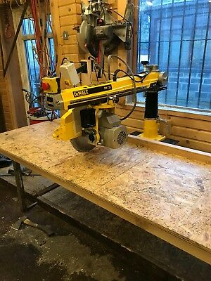 DeWalt DW728 Single Phase Radial Arm Saw