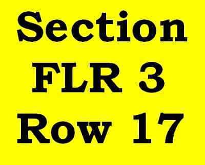 2 FLOOR Tickets Tim McGraw & Faith Hill PNC Arena Raleigh NC Friday 06/22/18