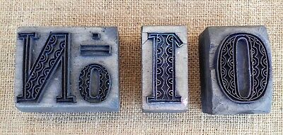 Antique Wood & Copper Printing Blocks - No10 - Skillful Copper Work