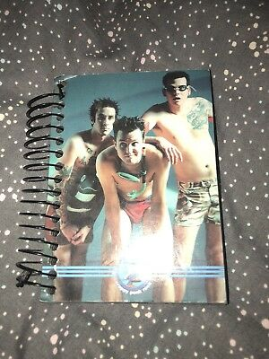Blink-182 Crappy Punk Rock Notebook 2000 Rare HTF Collectors Piece