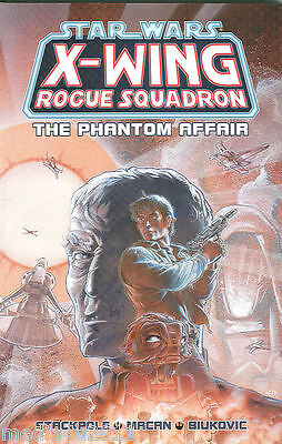 Star Wars X Wing Rogue Squadron Phantom Affair Graphic Novel P/b 1997 New Bagged