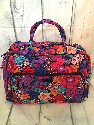NWT Vera Bradley Weekender Travel Carry On Bag in floral fiesta