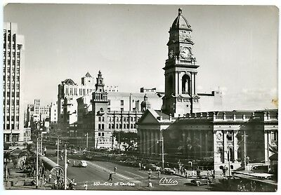 Postcard City of Durban South Africa Unused RP