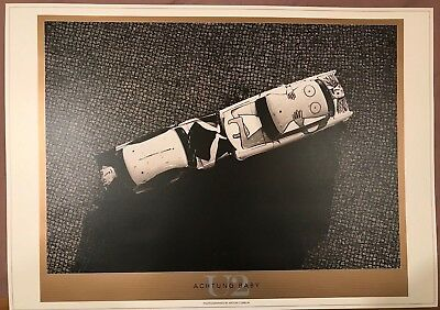 U2 ACHTUNG BABY * LITHOGRAPHIC POSTER * MINT CONDITION 690mm x 970mm