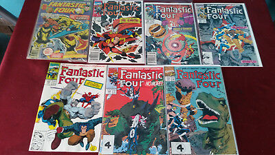 Marvel Comics Fantastic Four Lot of (7) #171 Good-339,338,347,348345,346 VF