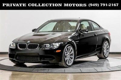 2010 BMW M3 Base Coupe 2-Door 2010 BMW M3 CPO Warranty Clean Carfax Well Kept Low Miles