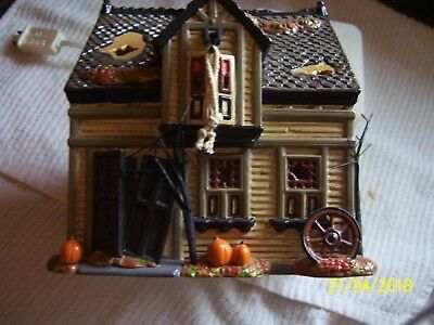 Dept 56  The Original Snow Village. Creepy Creek Carriage House. Halloween