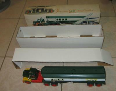 60s 70s VINTAGE MARX TOYS HESS GASOLINE TANK TRAILER TRUCK MINT IN THE BOX