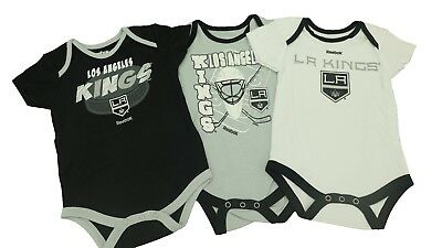 Los Angeles Kings NHL Official Reebok Infant Baby Size 3 Piece Creeper New 25915f4de