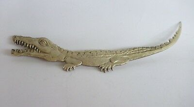 South Pacific Crocodile Small Metal Artefact PNG Papua & New Guinea