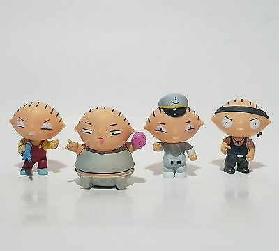 Family Guy STEWIE GRIFFIN Four Figure Box Set Mezco Action Figures Sexy party