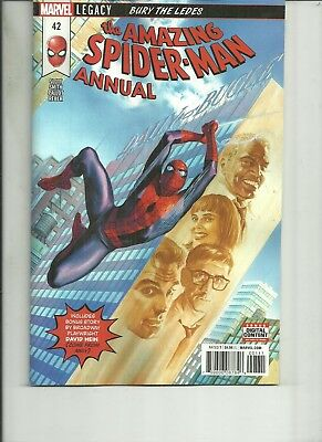 AMAZING SPIDER MAN ANNUAL  #42  Marvel Comics 1ST PRINT 2018 NM