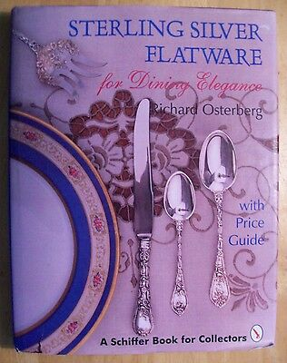 ANTIQUE STERLING SILVER FLATWARE PRICE GUIDE COLLECTOR BOOK Fork Knife Spoon
